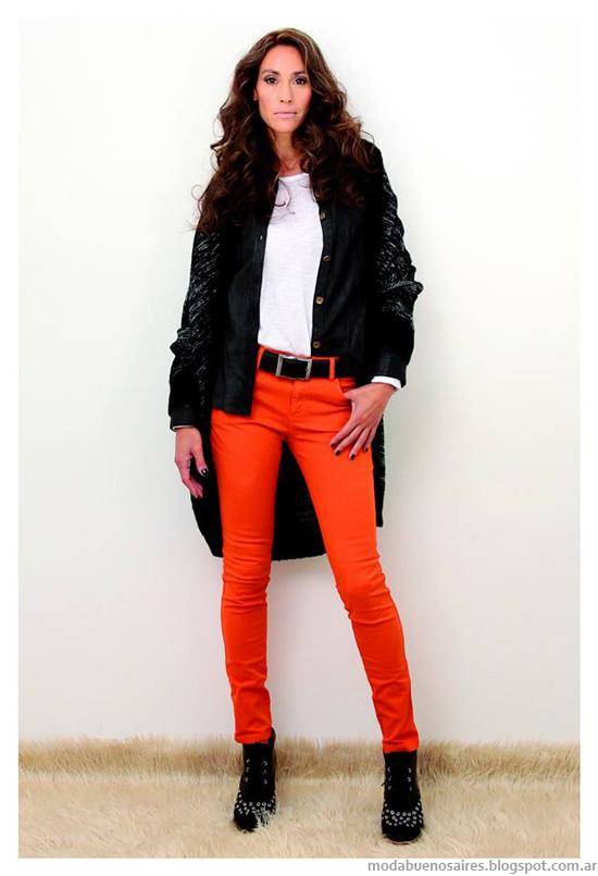 Moda invierno 2014 Marcela Pagella pantalones.