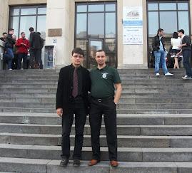 Împreună cu drd. Augustin Guriţă, Bucureşti, 13.V.2011...