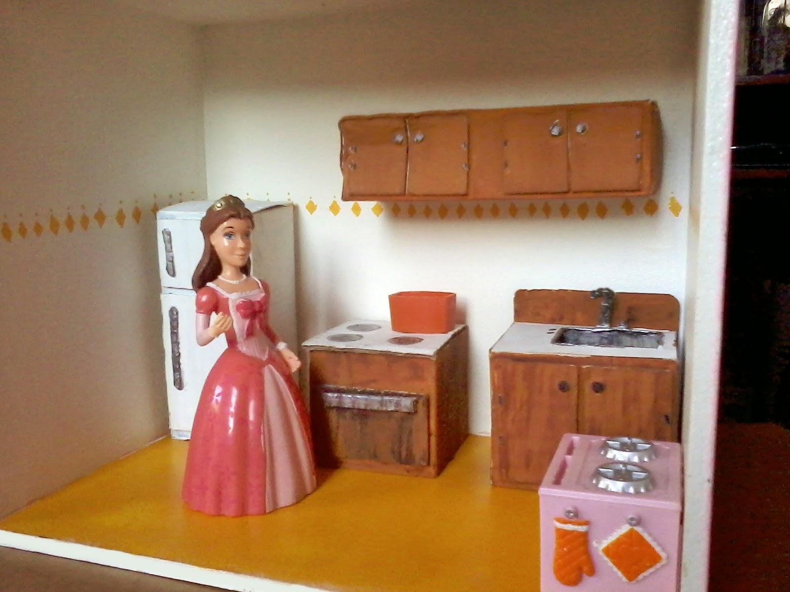 Casa de mu ecas dollhouse diy c mo hacer muebles de - Mi casa no es de munecas ...
