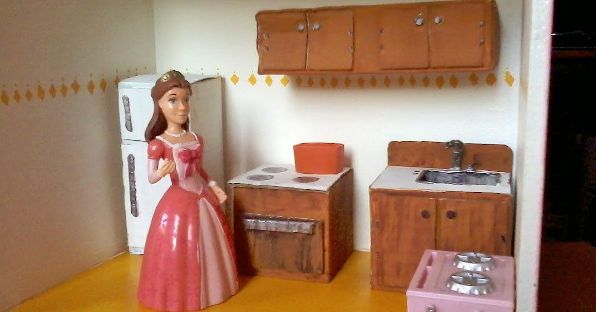 Diy Dollhouse Kitchen Cabinets