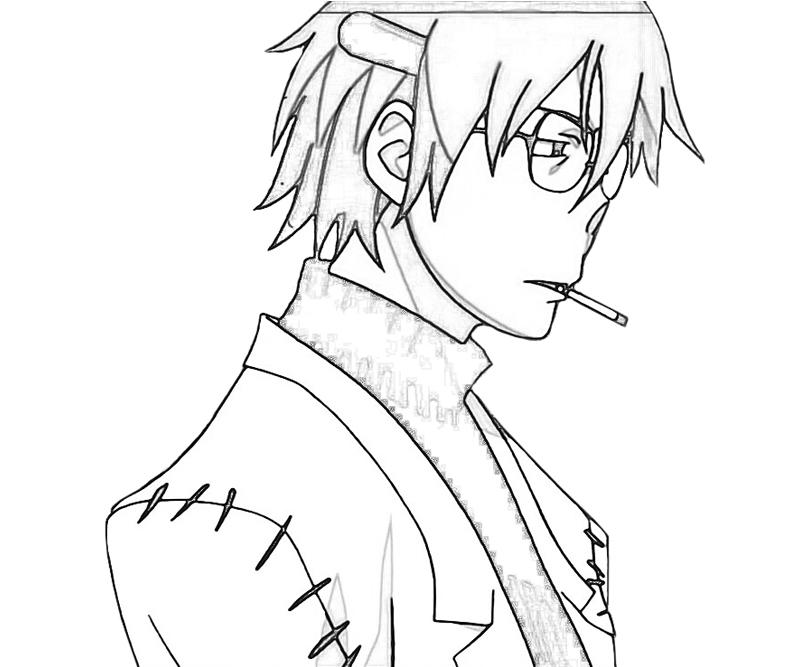 Soul Eater Coloring Pages Blair images