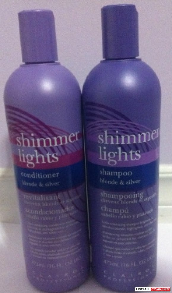 hair blond lights topic purple shimmering for shampoo light