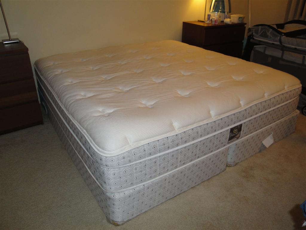 Ikea king size bed frame for sale 150 parsippany bed for Beds on sale ikea
