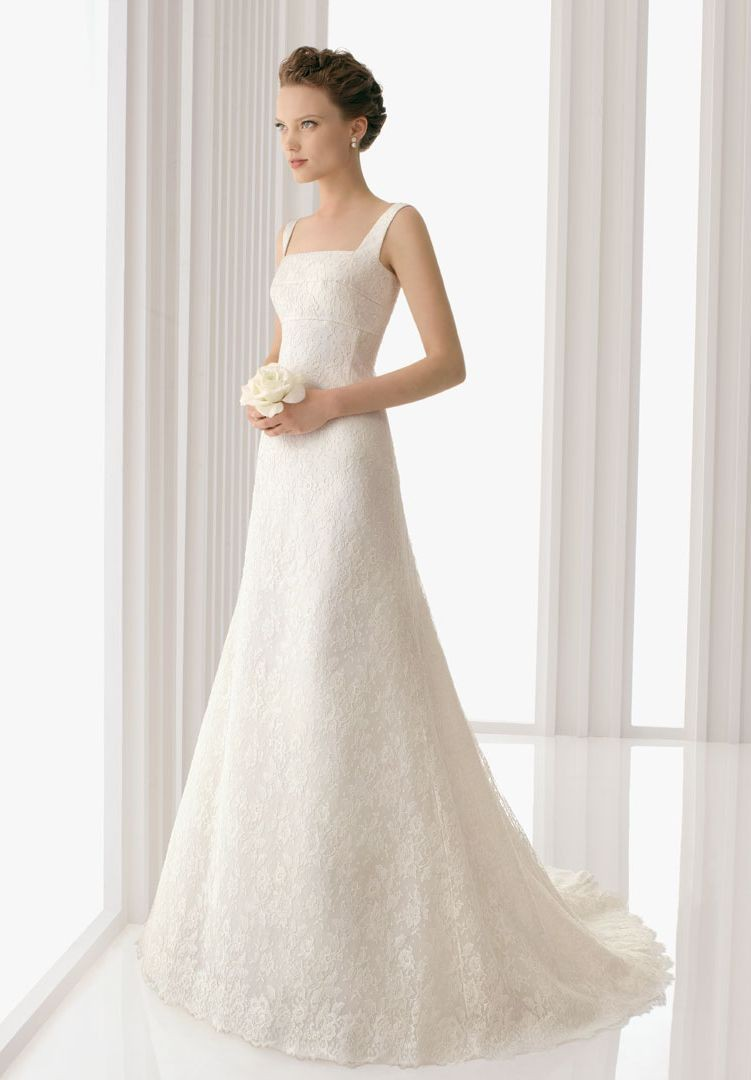 Whiteazalea elegant dresses new trends in lace wedding for Elegant wedding party dresses