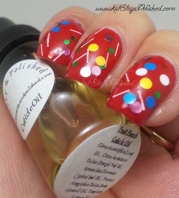 Pretty & Polished - Fruit Punch Cuticle Oil