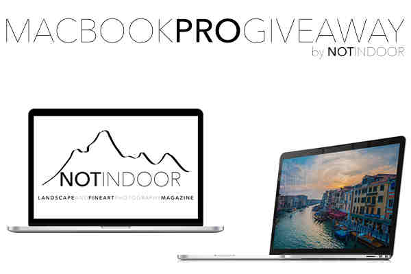 Win MacBook Pro from NOTINDOOR Photography Magazine