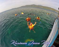 wisata snorkeling di karimun jawa