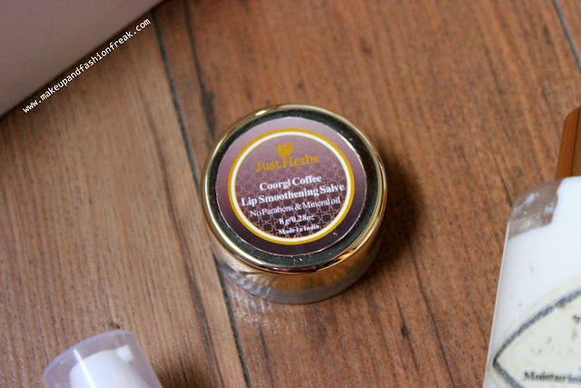 Just Herbs Coorgi Coffee Lip Smoothening Salve