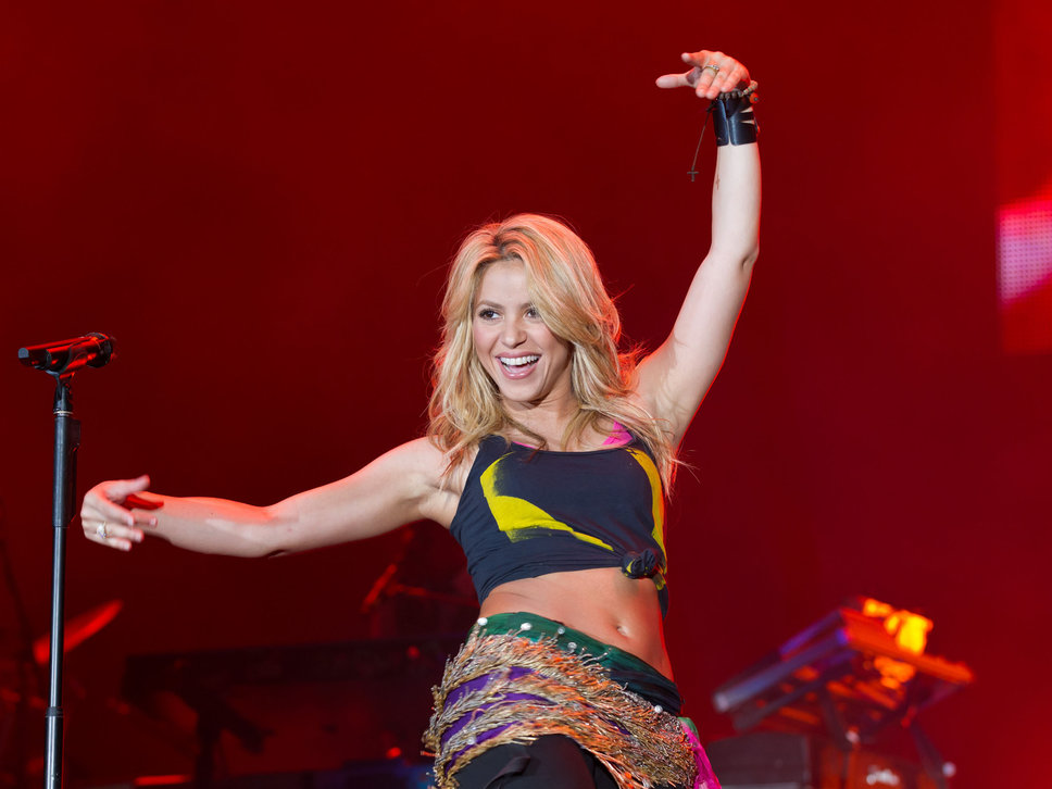 Shakira Shakira Belly Pictures