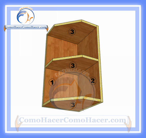 Esquinero de cocina plano y medidas web del bricolaje for Muebles de esquina para cocina
