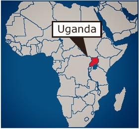 Uganda Afika'nın Neresinde