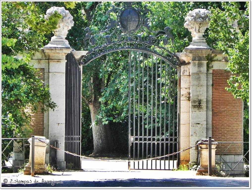 Estampas de aranjuez puentes en el jard n de la isla e isleta for El jardin de aranjuez