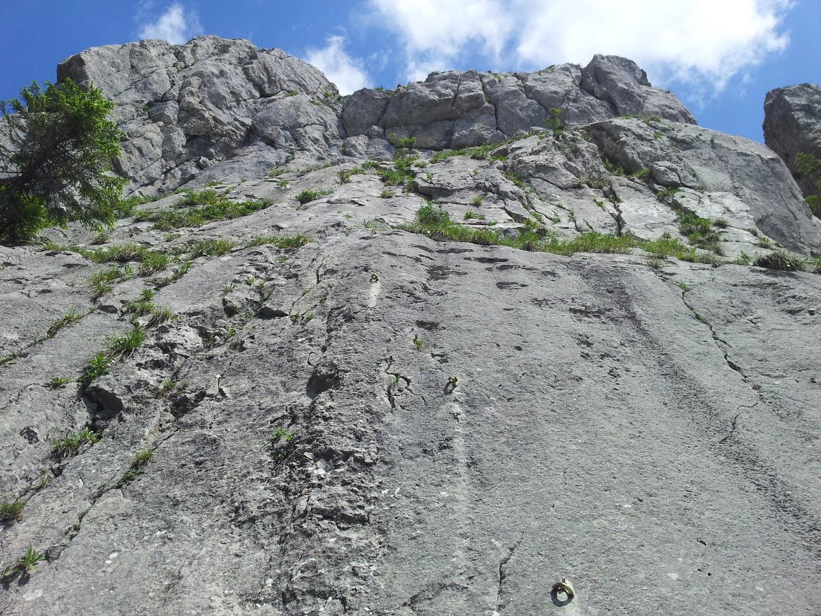 Traseu escalada Pietrele Doamnei