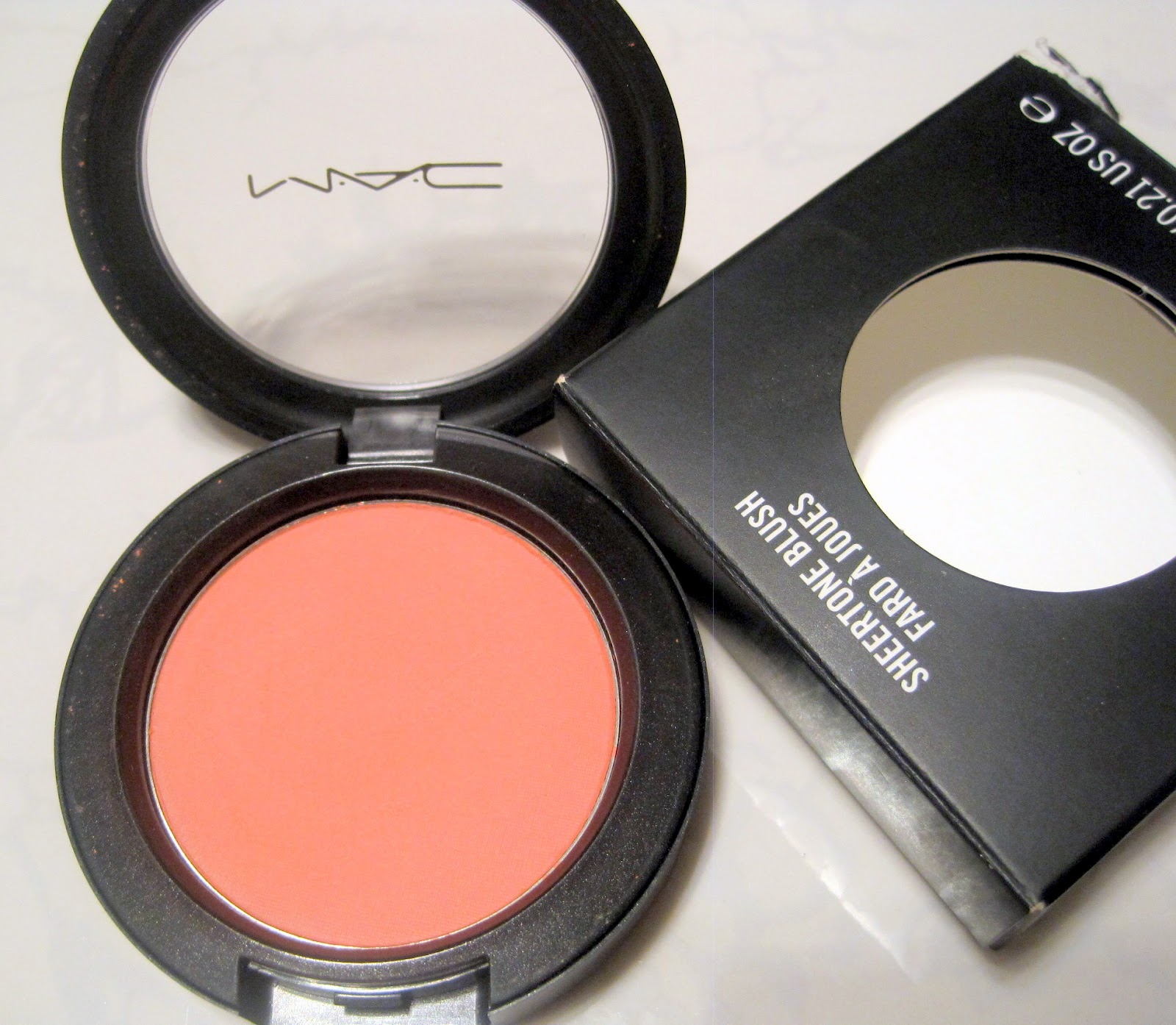 Connu Everything I Love: MAC SHEERTONE BLUSH IN PEACHES: REVIEW AND SWATCHES ZV99