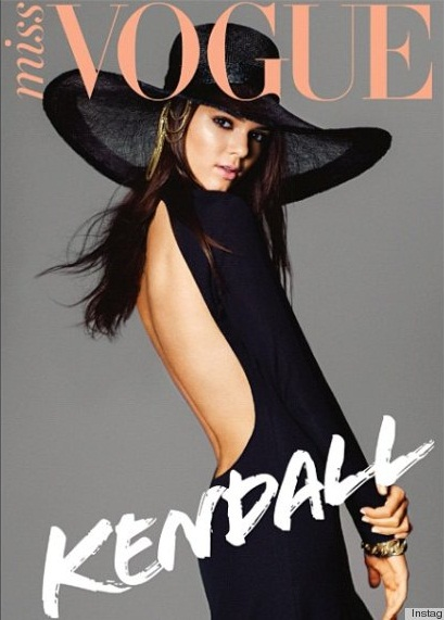 Kendall Jenner cover Vogue magazine