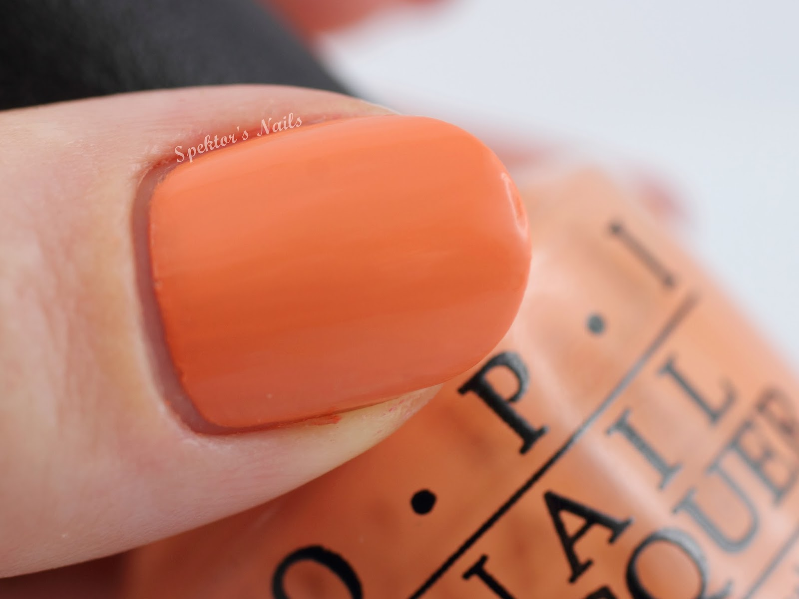 OPI Hawaii - Is Mai Tai Crooked?