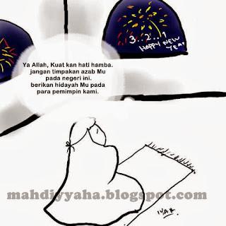 doa tahun baru kartun tobat