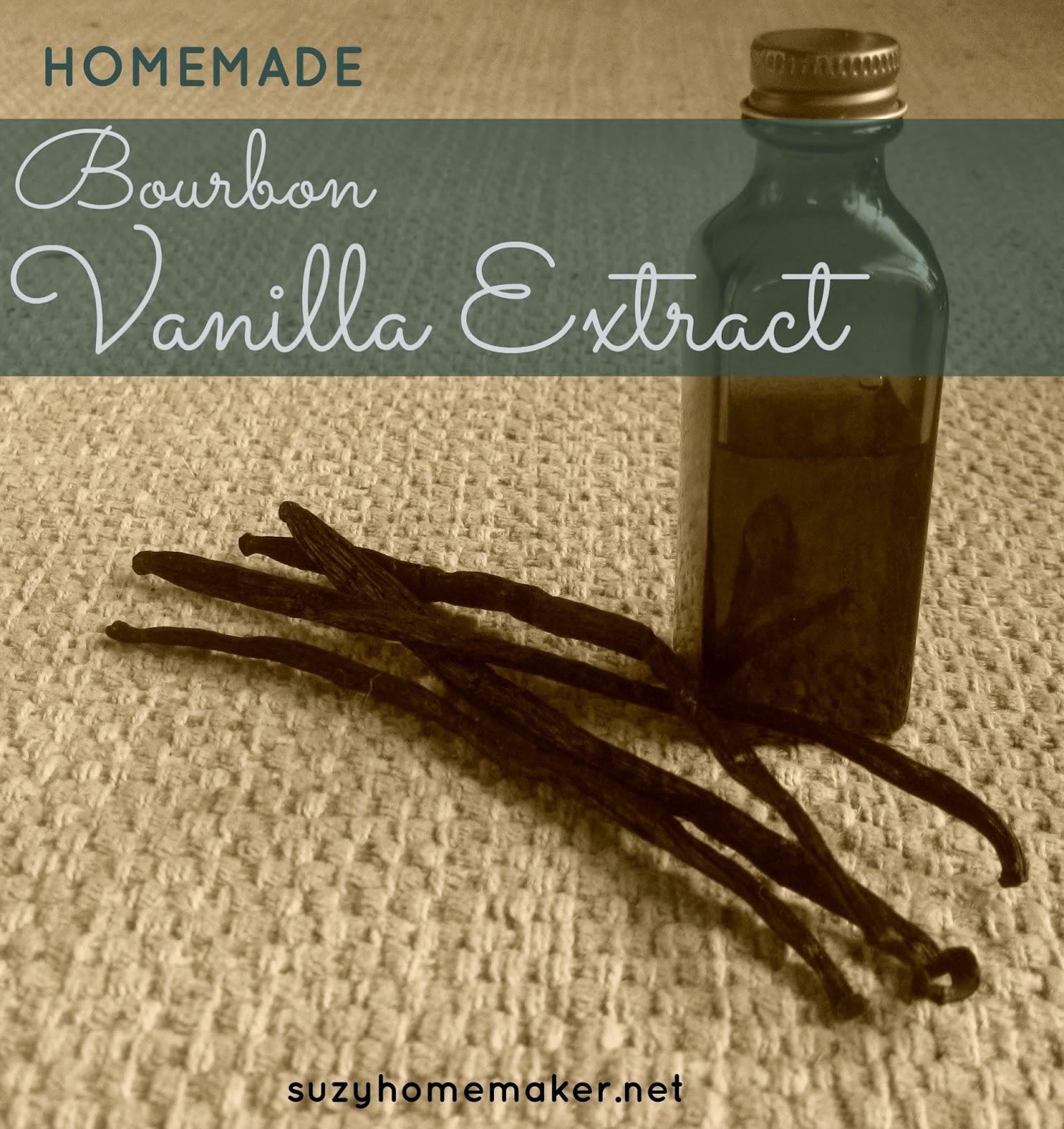 bourbon vanilla extract | suzyhomemaker.net