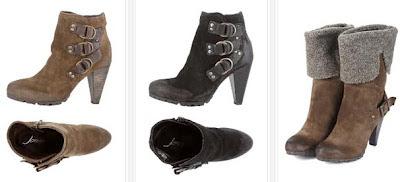 Botines y botas de piel