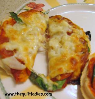Diet pizza Recipe