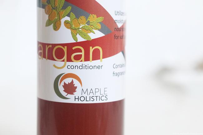 Maple Holistics Argan Oil Conditioner Review