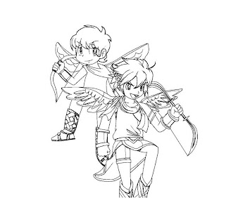 #19 Pit Coloring Page