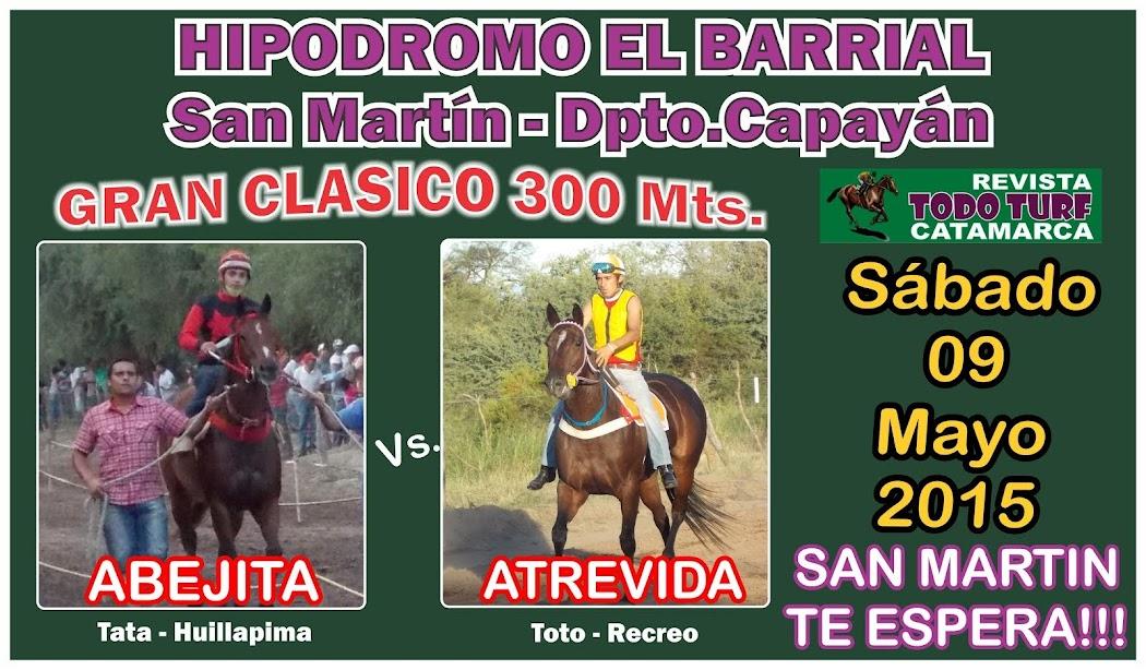CLASICO SAN MARTIN 09/05/2015
