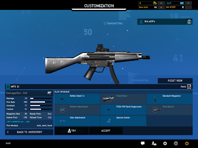 Ghost Recon Online - Weapon Customization