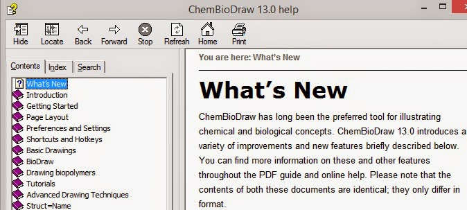 Just Like Cooking: Review: ChemBioDraw 14.0
