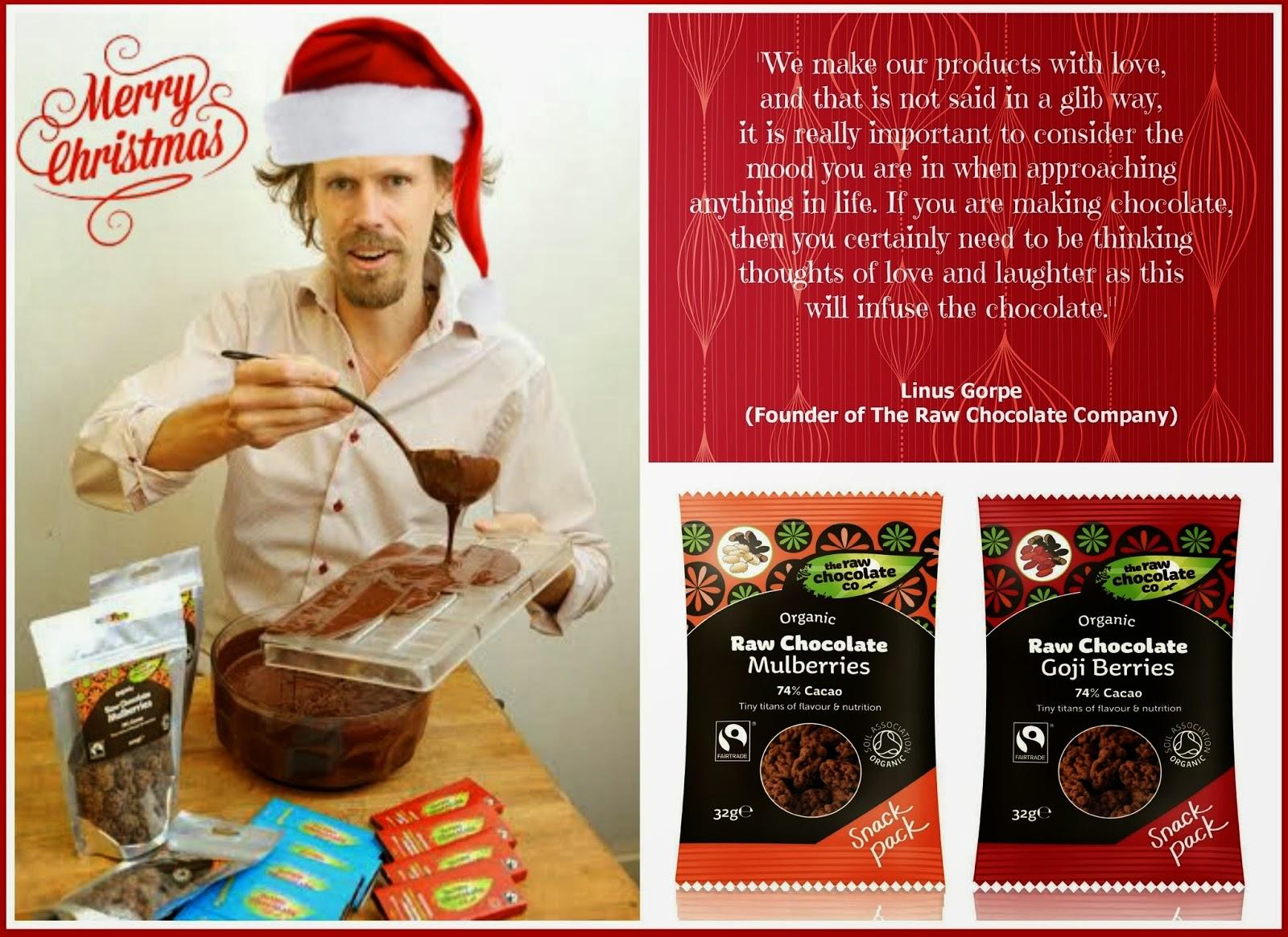 Linus Gorpe From The Raw Chocolate Company
