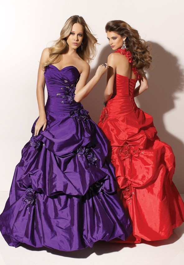 Stunning Ball Gown Prom Dresses