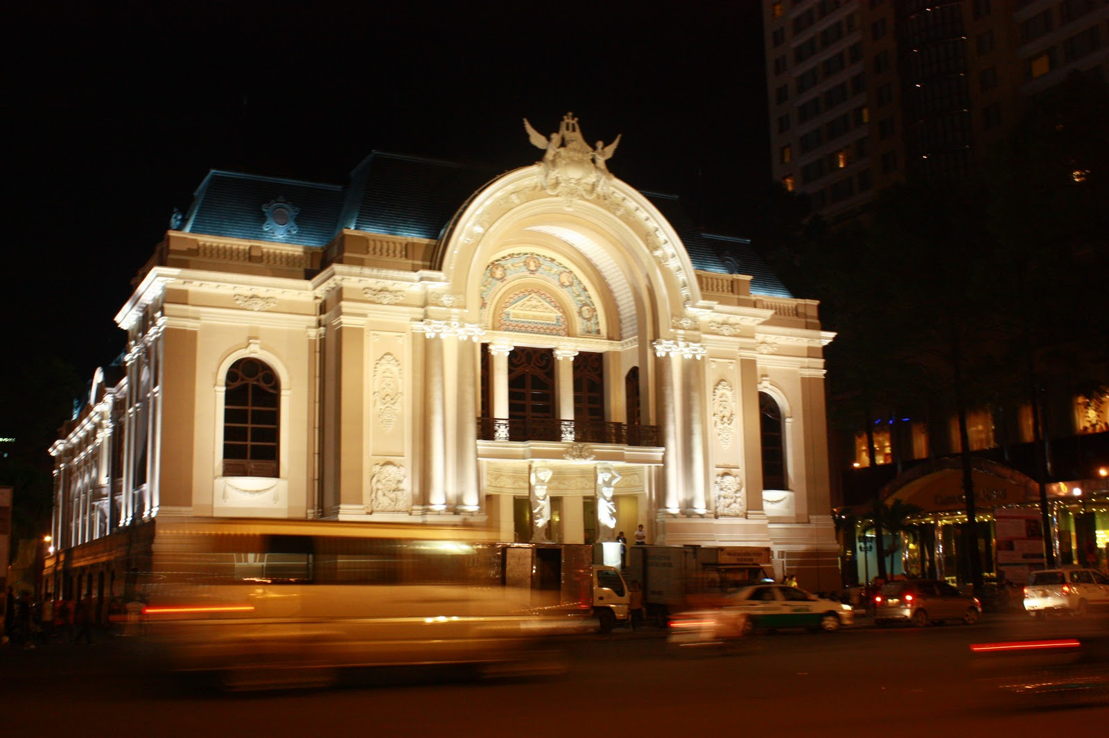 Saigon Opera House- a good place for artistic performances