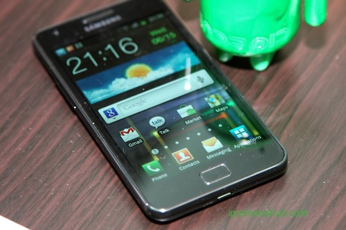 Samsung Galaxy S II Review images