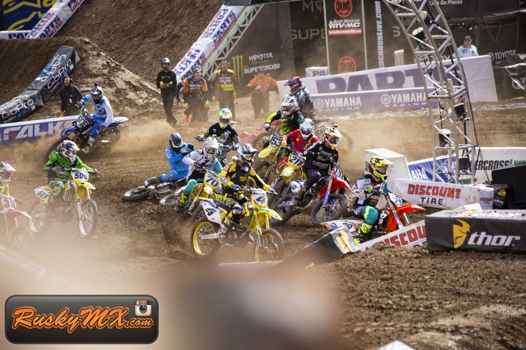 450 Semi 2 Start Metlife SX 2015