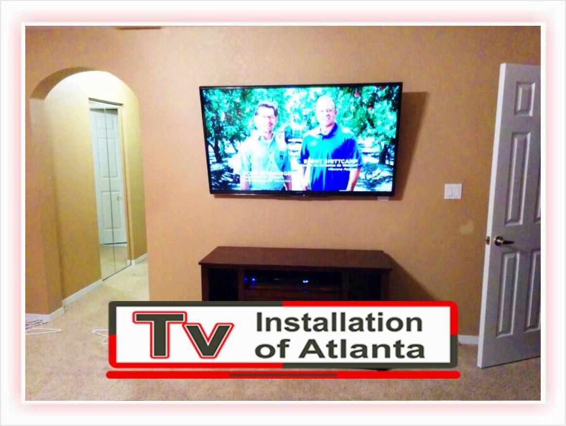 Wall Mount Tv Installation Of Atlanta Wiring