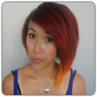 fire ombre short hair