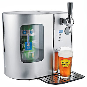 BEER ON TAP AT THE BEACH ??