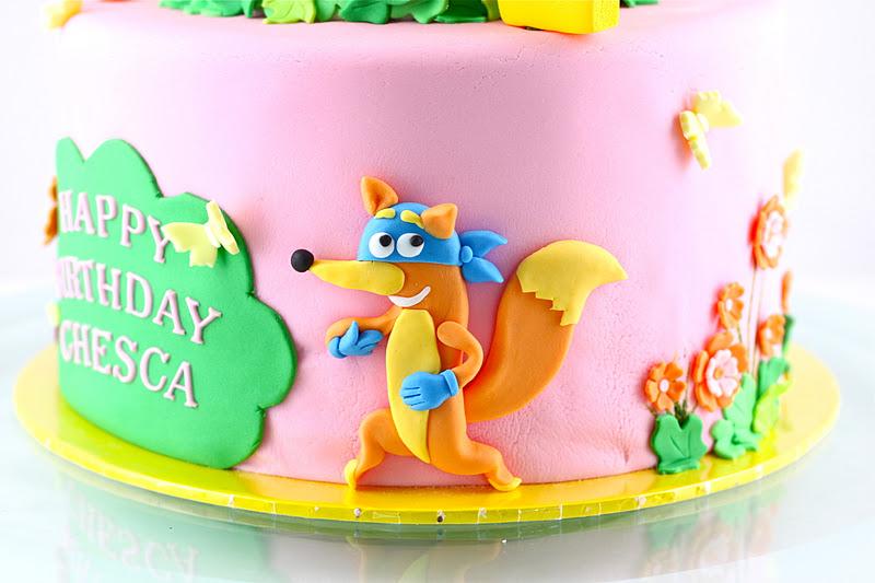 sweet art cakes by milbre u00e9 moments  chesca u0026 39 s dora cake