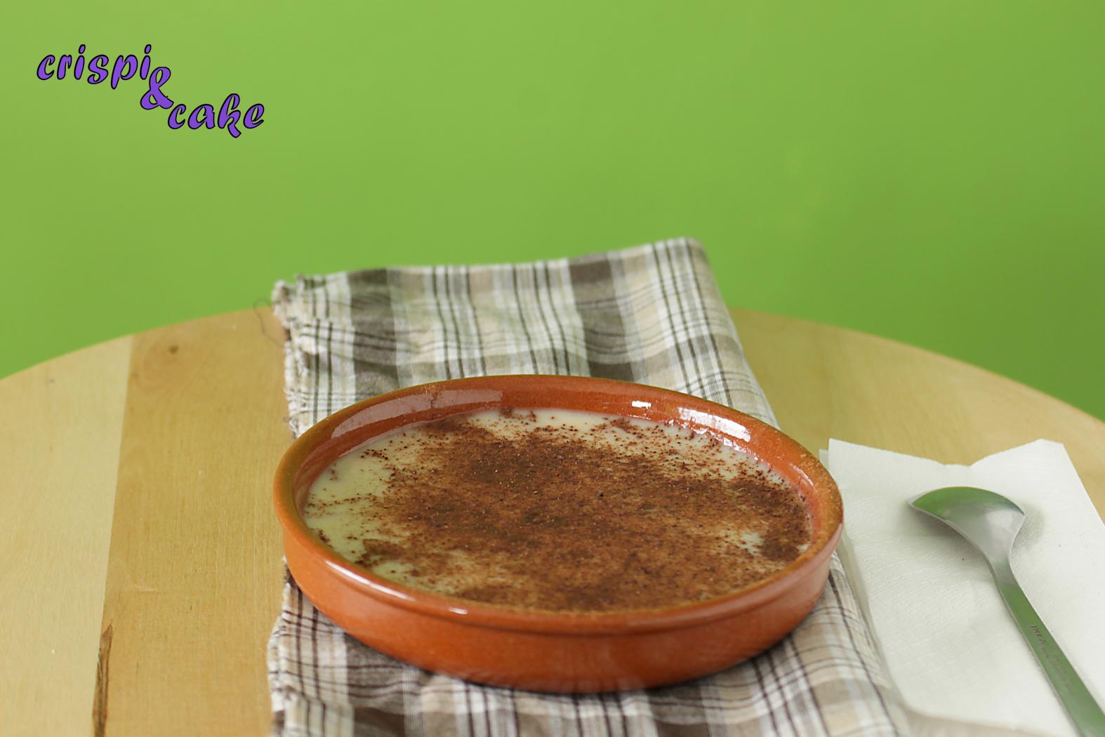 Crispi & Cake: Natillas con leche de almendras (Thermomix)