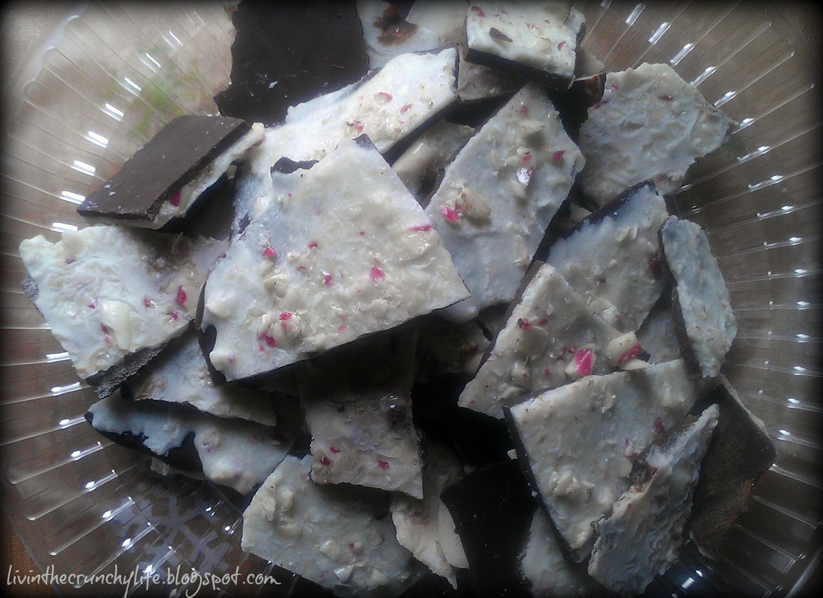 Dairy-Free Double Layer Peppermint Bark
