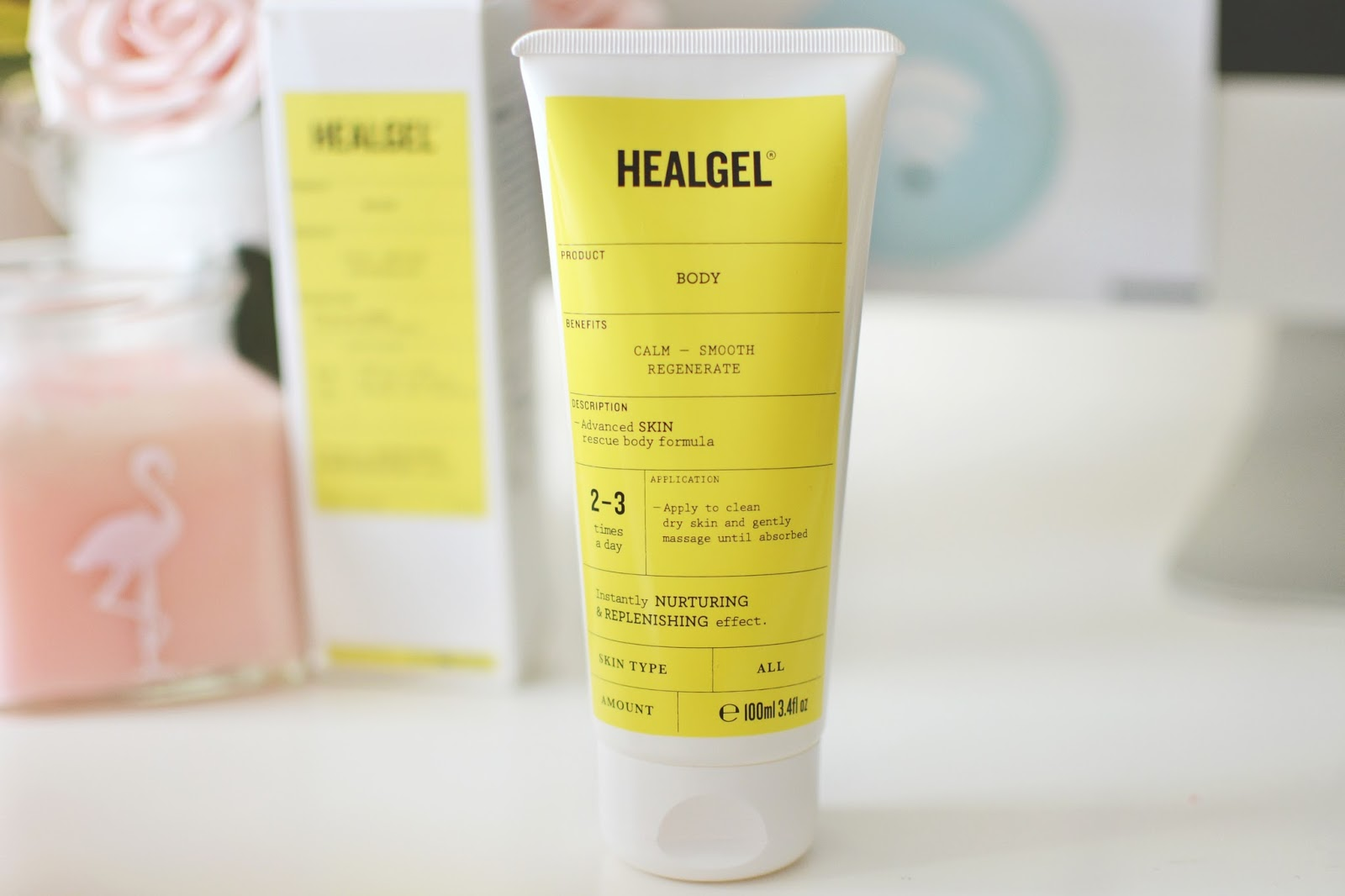 HealGel Body, bodycare for dry skin, products for dry skin, healgel