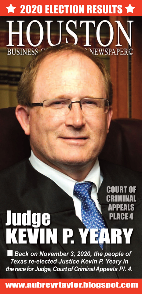 Our client Judge Kevin Patrick Yeary defeated his Democratic Challenger on November 3, 2020