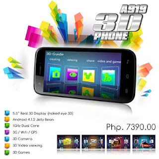 MyPhone A919 3D