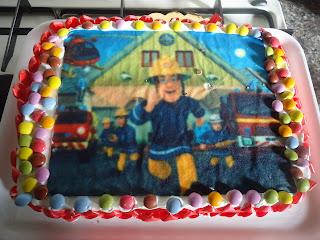 torte sam il pompiere
