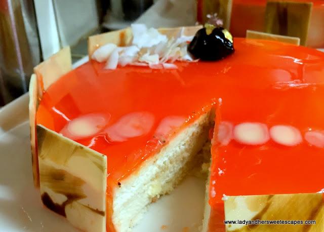 cake at Channels Media Rotana