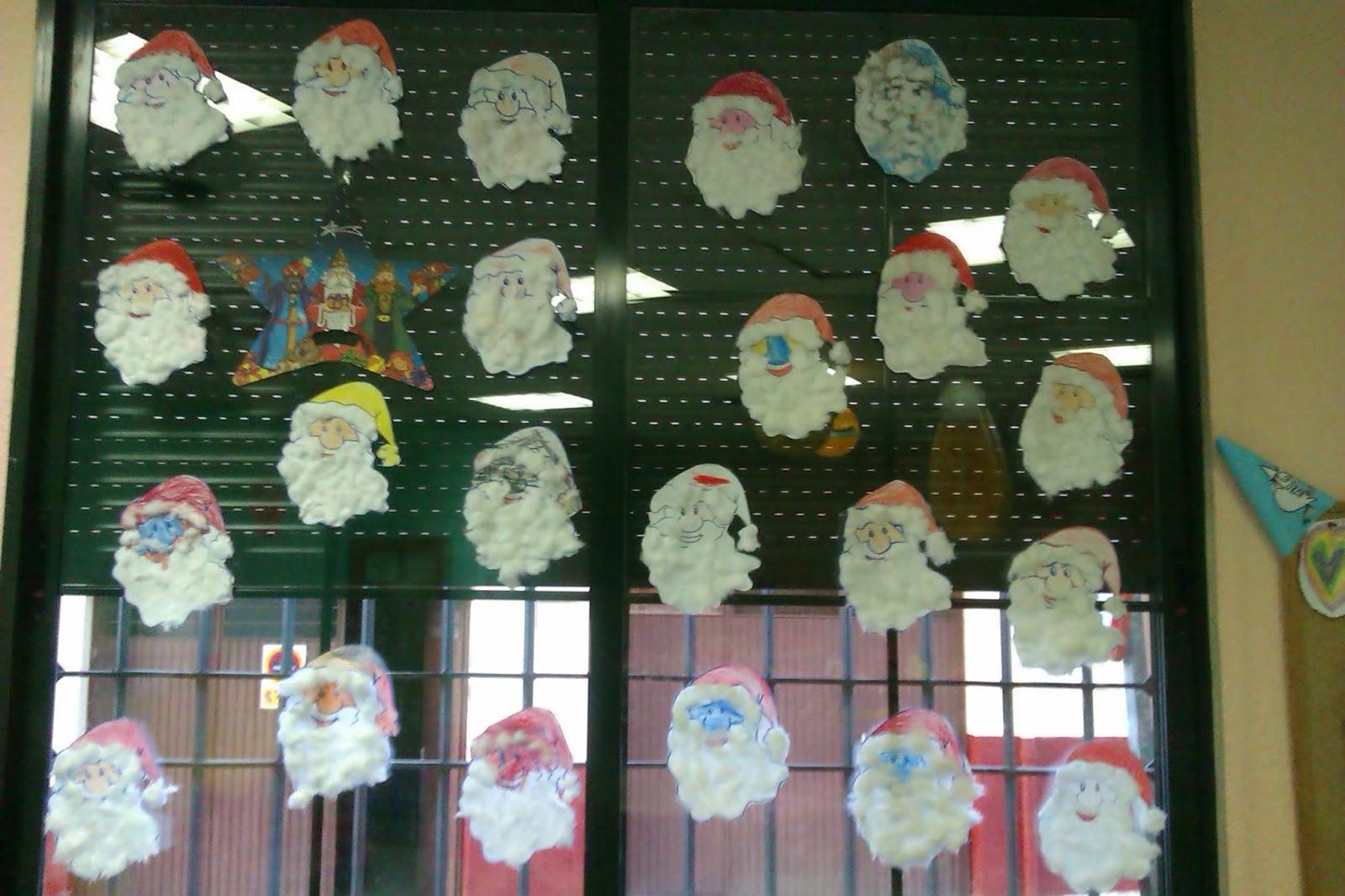 Los amigos de pinky decoraci n de navidad del aula for Decoracion escuela