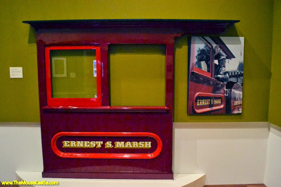 Side panel from the Ernest S. Marsh locomotive
