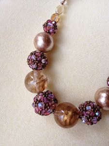 Beads ball Necklace