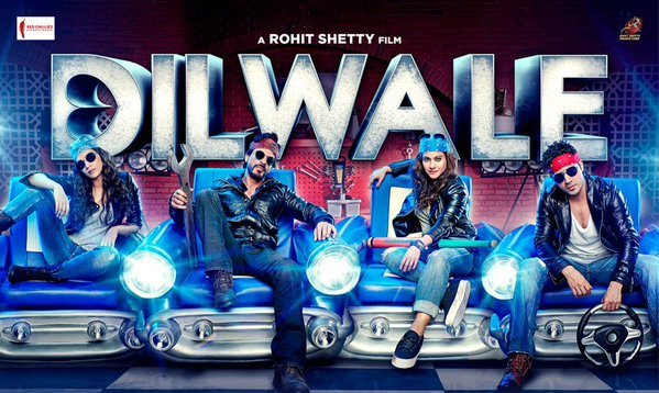 Film Review | Dilwale | Shahrukh Khan, Kajol, Varun Dhawan, Kriti Sanon