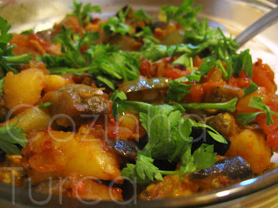 Vegetais no Forno (Fırında Şakşuka)